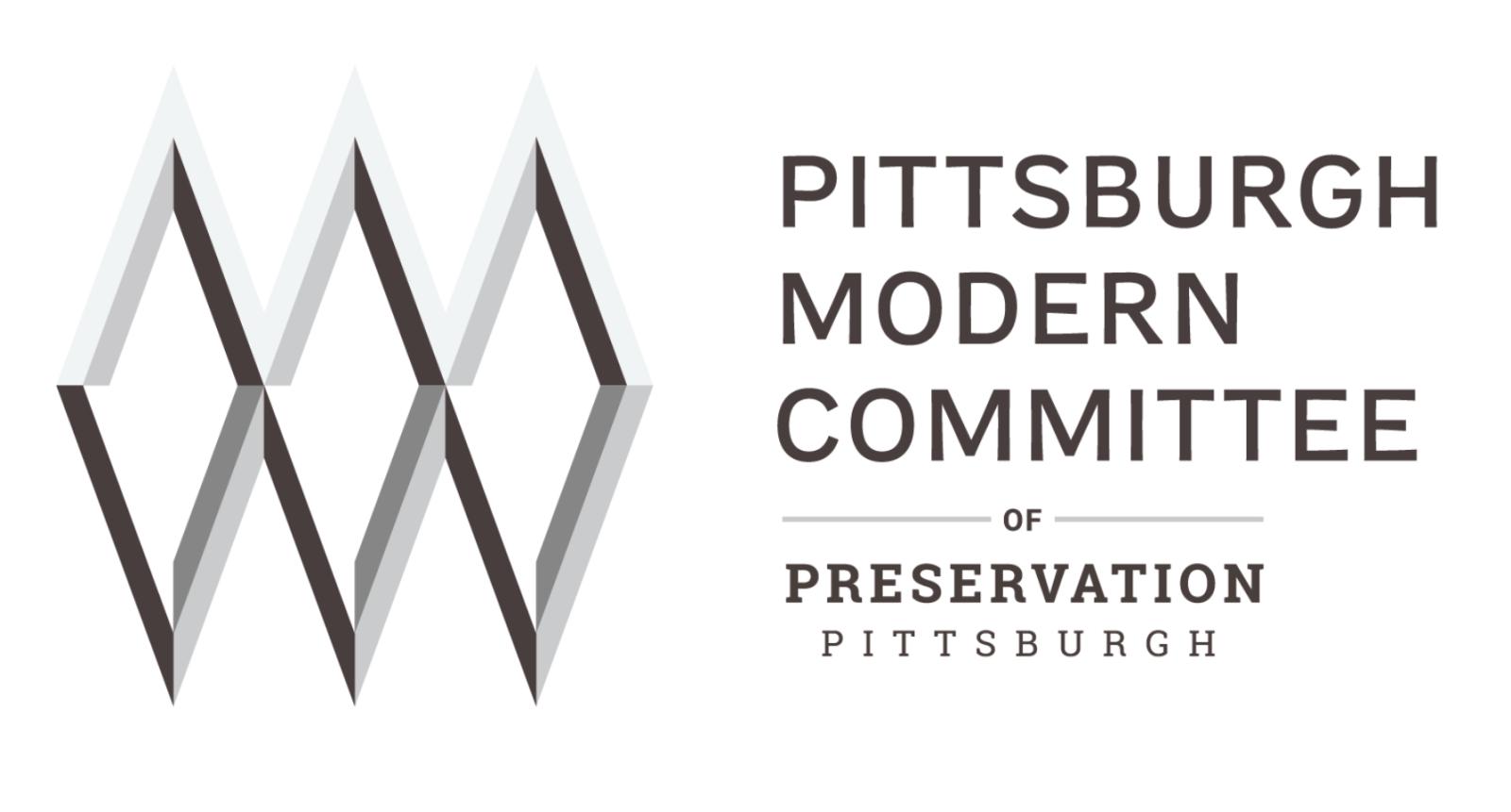 Pittsburgh Modern Committee logo